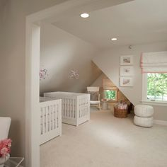 Benjamin Moore 'Pale Oak' for fred's room? Pale Oak Benjamin Moore, Room Colors, Paint Colors, Grey Wall Color, Pink And Gray Nursery, Nursery Twins, Nursery Room, Nursery Ideas, Baby Room