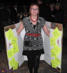Mitt Romney and One of His Binders Full of Women - Halloween Costume Contest via @costume_works