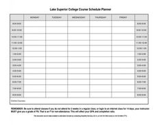 Study Schedule Template   Free Word Excel Pdf Format Download