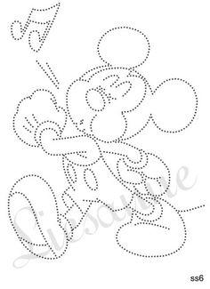 Mickey fluitend
