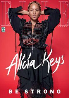 8a3b3b804f72 Alicia Keys for ELLE Magazine Brasil September 2017 Alicia Keys