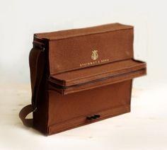 Shut up. A piano bag (I wish it actually played)