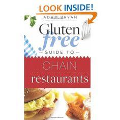 Gluten Free Guide to Chain Restaurants $14.99
