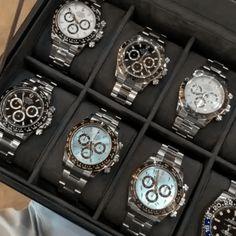 Rolex Watches For Men, Cheap Watches, Luxury Watches For Men, Men's Watches, Watches Online, Rose Gold Rolex Mens, Rose Gold Watches, Rolex Submariner Blue, Rolex Presidential