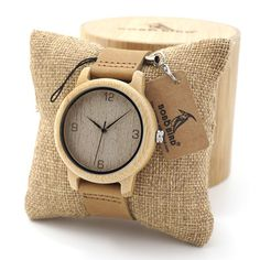 Men's Watches Humorous Vintage Bamboo Quartz Watch Unisex Weave Knit Sweater Pattern Sport Men Women Wristwatches Wood Relogio Masculino Christmas Gift 50% OFF