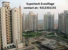 Supertech Eco village 1 noida         a) 4 Sided Open Apts by Supertech. 2 BHK Starts @47.28 Lac. Just Pay 10% and Book your dream home.         b) 82% open landscaped area         c) 4 sided open vastu friendly Plot         d) 100 Acre adjoining city greens         e) Metro Connectivity         f) In-house clubs with exclusive facilities         g) 24 hour water & power supply         h) Extensive sports ...