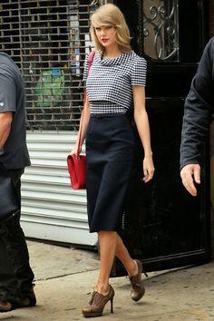 Street Style: Taylor Swift em NY