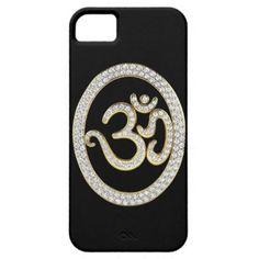 diamond om symbol iPhone 5 case