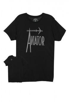 Jacks & Jokers Aviator Short Sleeve Graphic Tee