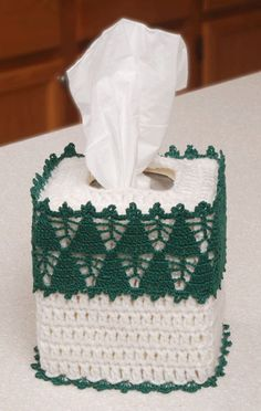 Christmas Tree Farm Tissue Cover