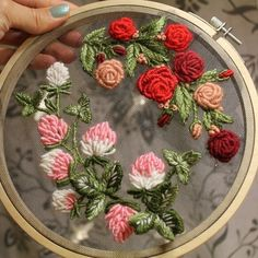 Embroidery is a delicate art at the best of times, needing great accuracy and patience as well as a steady hand and eye for detail.