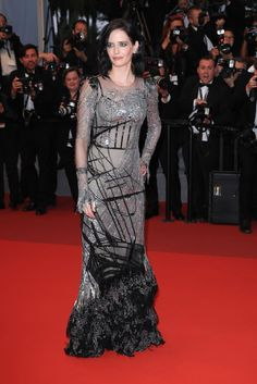 Eva Green in AMQ At the 70th annual Cannes Film Festival at Palais des Festivals on May 27, 2017 - HarpersBAZAAR.com