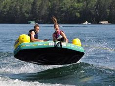 Water Tube Crash Iboats Com Water Tubing Pinterest