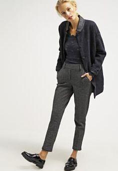Opus - MADENI - Pantalon - raven grey
