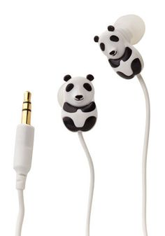 I already have panda earphones, but these are different 'kay?