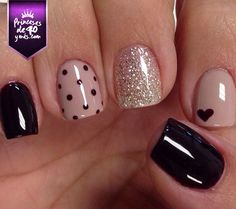Perfectas. #nails #pretty #black