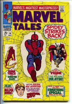 Marvel Tales 14 1968 FN Amazing Spider-Man 19 Strange Tales 111 Thor