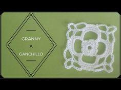 Granny square o cuadrado de la abuela.