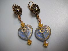 VINTAGE Style Antique Copper Sapphire and Gold by Beads4You2008,