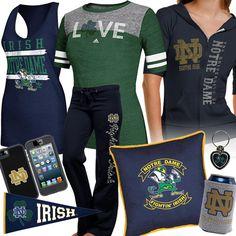 Women's Notre Dame Fan Gear