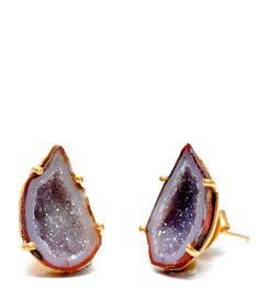 Geode Earrings from Leif
