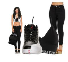 """""""Untitled #463"""" by mykira on Polyvore featuring Retrò, Moschino, Calvin Klein Underwear, Charlotte Russe, Wet Seal and Lime Crime"""