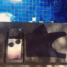"For your daily dose of inspiration head over to our Pinterest channel ""funktionschnitt"" and see what we are inspired by • have a nice evening, peeps!  #inspiration #pinterest #funktionschnitt #premiumshirts #womenstop #pool #intotheblue #flatlay #lastsummerday #potd #basics #shirtlabel #thisiscologne"