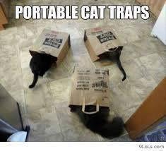 Tragbare Katzenfallen