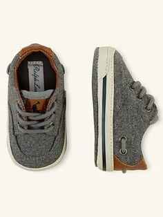 Vance Lace-Up Sneaker - Shoes  Layette Boy (Newborn–9M) - RalphLauren.com