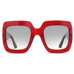 3cb243551a1 Gucci GG0053S Red Steampunk Sunglasses