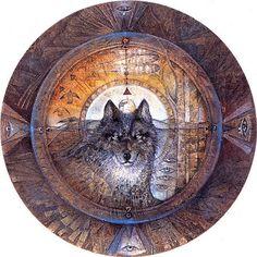 """""""Shield of the Four Directions"""" par Susan Seddon Boulet"""
