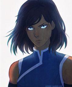 Korra's haircut finally makes sense! ❤