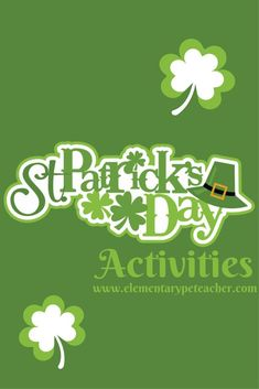 Fun physed activities to help celebrate St. Patrick's Day!