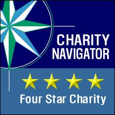 """Charity Navigator -- """"We now have all 1.6 million IRS registered nonprofits on our site!""""  Check an organization out before you donate; click through for the 4-star list."""