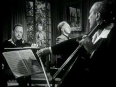 This is brilliant...and be sure to watch it to the end! Mendelssohn Piano Trio No. 1 in D minor, Mvt. 2 - Heifetz, Rubinstein, Piatigorsky