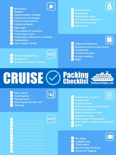 The Muster Station Cruise Accessories Hacks Tips