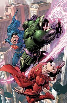 80 Super ilustraciones de Superman, el primer superheroe