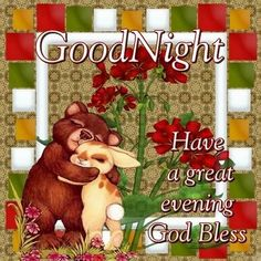 Good night sister and all, have a peaceful night♥★♥.