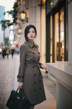 daily 2018 feminine & classy look - Women Korean Fashion Dress, Ulzzang Fashion, Korean Outfits, Asian Fashion, Hijab Fashion, Girl Fashion, Fashion Dresses, Fashion Design, Office Fashion
