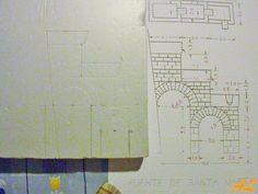 Tutorial de una fuente historiada – Nacimiento en Belén Coolpix, Office Supplies, Notebook, 1, Pinwheel Tutorial, Fonts, Nativity Scenes, Miniatures, Sketch