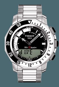<em>TISSOT</em> SEA-TOUCH in meters/T026.420.11.051.00