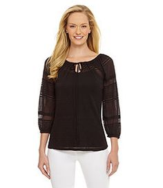 Westbound Burnout Peasant Top