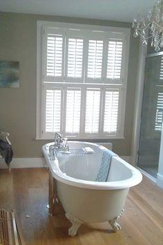 40 Best Bathroom Inspiration Plantation Shutters Images