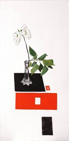 "Saatchi Art Artist Magdalena Kazimierska; Painting, ""Lilac JCL"" #art"