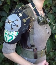 coelasquid:  biliouskaiju:  NEW!!! Wasteland Mad Max inspired items in my shop! Armor, Hand Bags and Immortan Joe Citadel Insignia leather wrist cuffs now available! https://www.etsy.com/shop/Biliousworks  Tina is selling Wasteland gear she's been working on and it's Amazing!