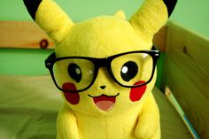Find images and videos about glasses, pokemon and pikachu on We Heart It - the app to get lost in what you love.