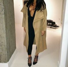 Winter Fashion Camel Coat Style Trend