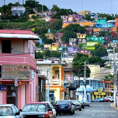 Colorful Yauco Town ~ Yauco, Puerto Rico ~ (By ICTUS Photography, via Flickr)