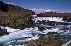 WATERFALL... Vestur-Skaftafellssysla, Iceland.