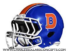 Charles Sollars Concepts @Charles Sollars @Charles Sollars http://www.charlessollarsconcepts.com/denver-broncos-royal-blue-helmet-concepts/ #broncos #denver #nike #nfl